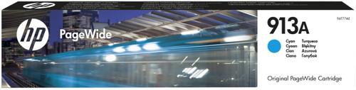 HP 913A PageWide Cartridge Cyan (F6T77AE) Main Image