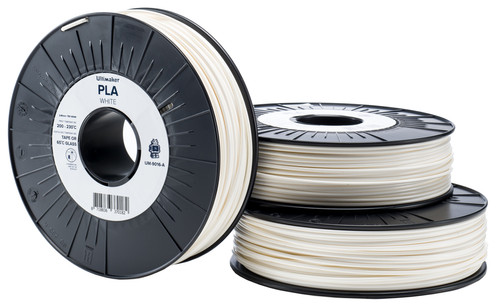 Ultimaker PLA White Filament 2.85 mm (0.75 kg) Main Image