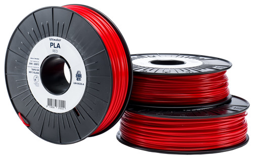 Ultimaker PLA Red Filament 2.85 mm (0.75 kg) Main Image