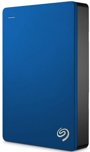 Seagate Backup Plus Portable 5 TB Blauw Main Image