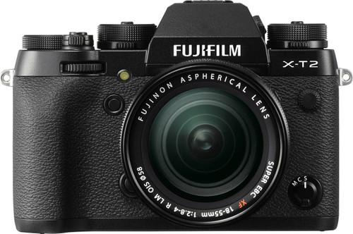 Fujifilm X-T2 Zwart + XF 18-55mm f/2.8-4.0 R LM OIS Main Image