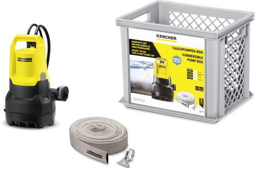 Karcher SP 5 Dirt Box Main Image