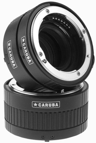 Caruba Extension Tube set Nikon Chrome (type II) Main Image