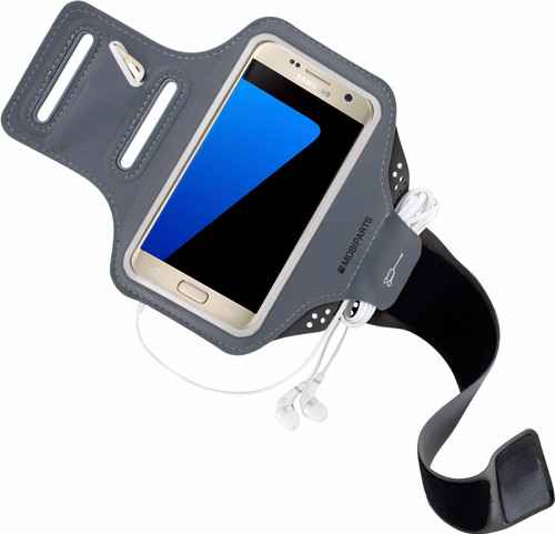 Mobiparts Comfort Fit Sports Bracelet Samsung Galaxy S7 Gray Main Image