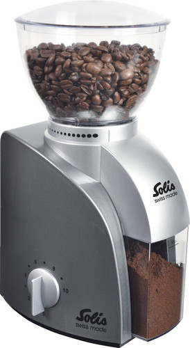 Solis Scala 166 Silver Dust Coffee Grinder Main Image