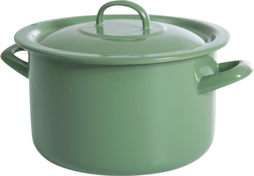 BK New Vintage Cooking Pot Enamel 20cm Main Image