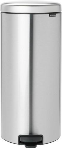 Brabantia NewIcon Pedaalemmer 30 Liter Mat Staal Main Image
