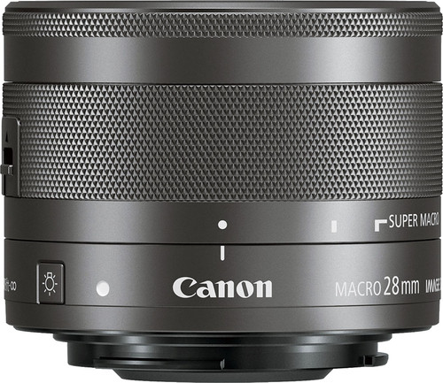 Canon EF-M 28mm f/3.5 IS STM Macro Main Image