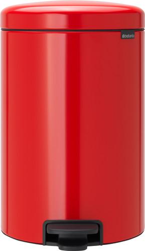 Brabantia NewIcon Pedaalemmer 20 Liter Rood Main Image
