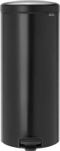 Brabantia NewIcon Pedaalemmer 30 Liter Mat Zwart Main Image