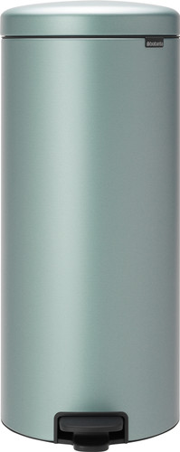 Brabantia NewIcon Pedal Trash can 30 Liter Metallic Mint Main Image