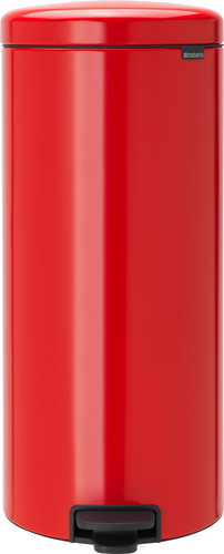 Brabantia NewIcon Pedal Trash Can 30 Liters Red Main Image