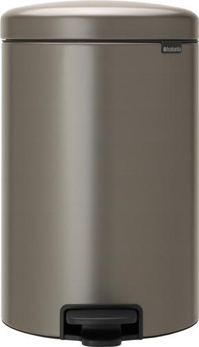 Brabantia NewIcon Pedaalemmer 20 Liter Platinum Main Image