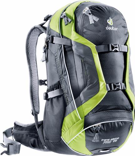 Deuter Trans Alpine Pro 28 Black/Kiwi Main Image