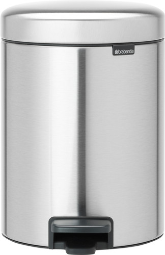 Brabantia NewIcon Pedaalemmer 5 Liter Mat Staal Main Image