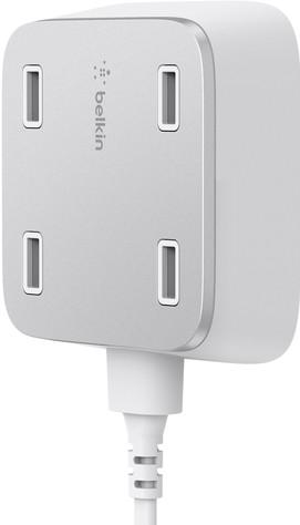 Belkin Family Rockstar USB Hub 2.4A White Main Image