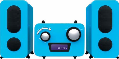 Bigben Microset Radio/CD Player Blue Main Image