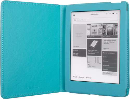 Gecko Covers Kobo Aura (edition 2) Hoes Luxe Blauw