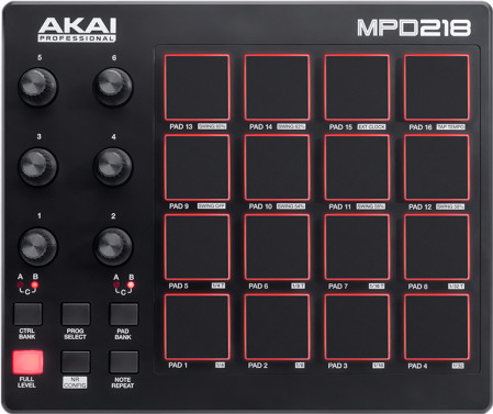 Akai MPD218 Main Image