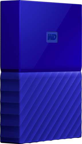 WD My Passport 4TB Blue Main Image