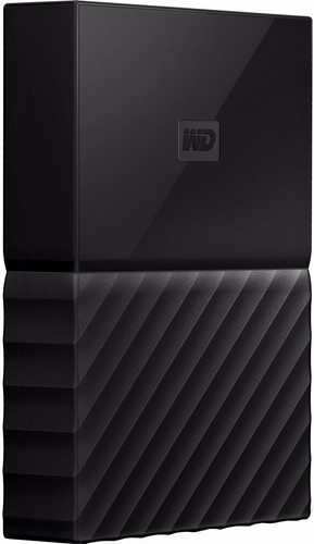 WD My Passport 4TB Black Main Image