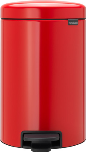 Brabantia NewIcon Pedaalemmer 12 Liter Rood Main Image
