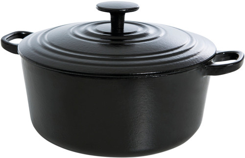 BK New Vintage Dutch Oven Cast Iron 28cm Black Main Image