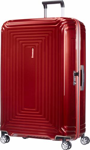 Samsonite Neopulse Spinner 81cm Metallic Red Main Image