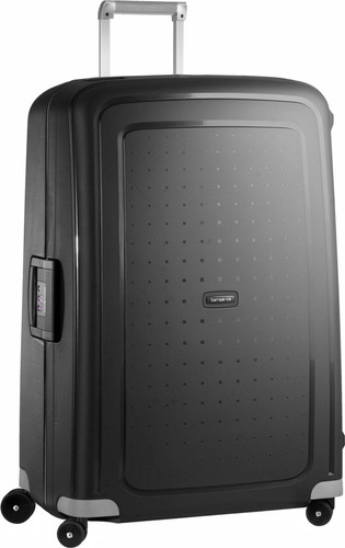 Samsonite S'Cure Spinner 81cm Black Main Image
