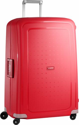 Samsonite S'Cure Spinner 81cm Crimson Red Main Image