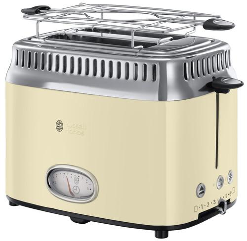 Russell Hobbs Retro Vintage Cream Toaster Main Image