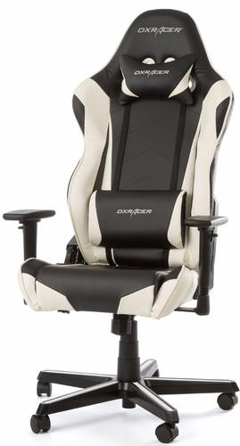 DXRacer RACING Gaming Chair Zwart/Wit Main Image