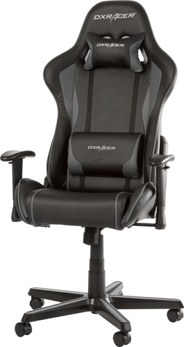 DXRacer FORMULA Gaming Chair Zwart/Grijs Main Image