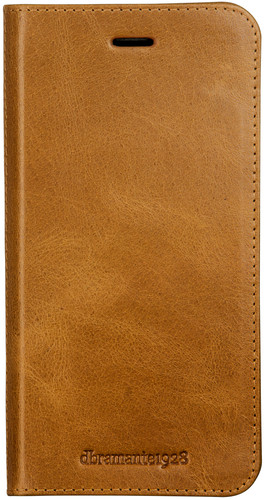 DBramante1928 Frederiksberg 3 Apple iPhone SE 2/8/7/6s/6 Book Case Leather Brown Main Image