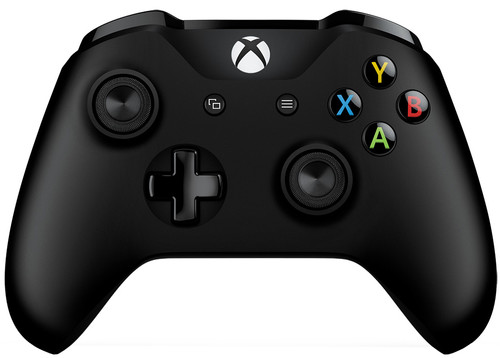 Microsoft Xbox One Wireless Controller Black + Cable Main Image