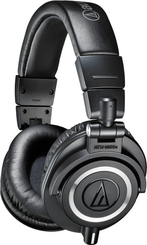 Audio-Technica ATH-M50X Zwart Main Image