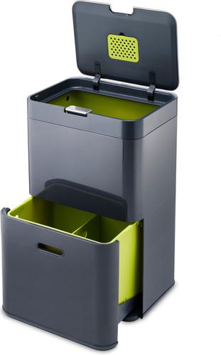Joseph Joseph Intelligent Waste Totem 48 Liter Graphite Main Image