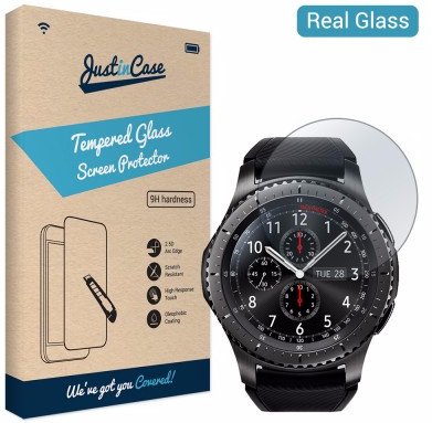 Just in Case Tempered Glass Samsung Gear S3 Main Image