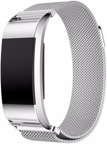 Just in Case Fitbit Charge 2 Milanese Watchband Silver Main Image