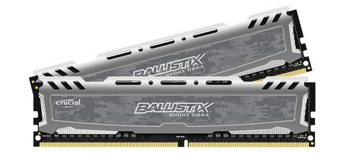Crucial Ballistix Sport LT 32GB DDR4 DIMM 2400 MHz (2x16GB) Main Image