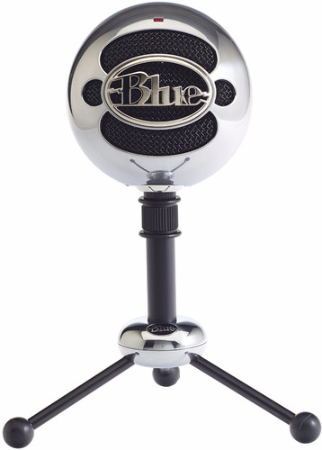 Blue Snowball Brushed Aluminium Main Image