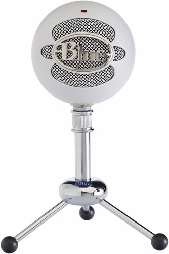Blue Snowball Textured White Main Image