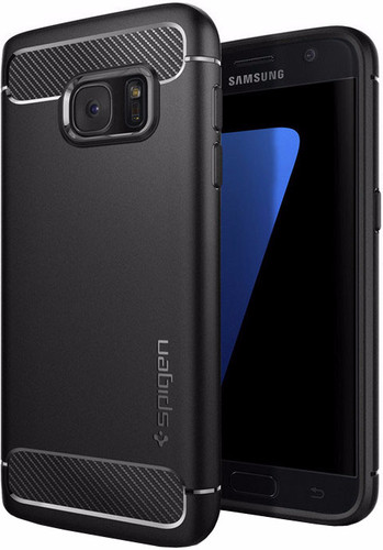 Spigen Rugged Armor Samsung Galaxy S7 Black Main Image