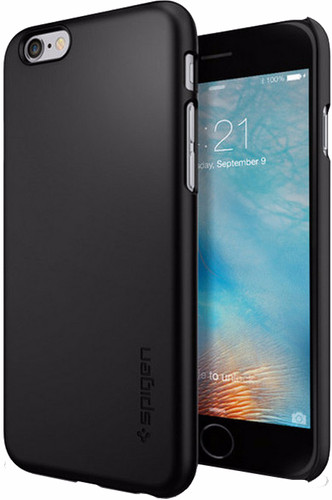 Spigen Thin Fit Apple iPhone 6/6s Black Main Image