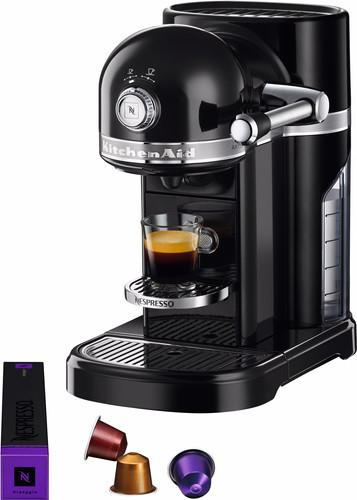 KitchenAid Nespresso 5KES0503 Onyx Black Main Image