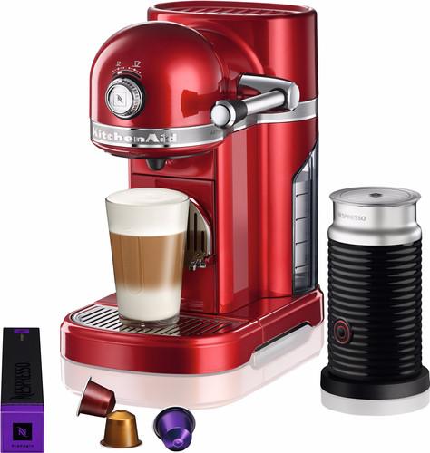 KitchenAid Nespresso en Aeroccino 5KES0504 Appelrood Main Image