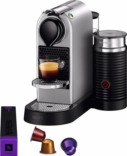 Second Chance Krups Nespresso Citiz & Milk Silver XN760B Main Image