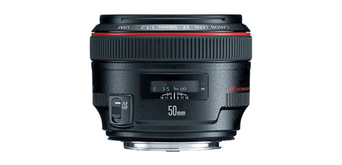 Canon EF 50mm f/1.2L USM Main Image