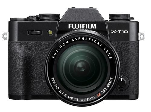 Fujifilm X-T10 Zwart + XF 18-55mm f/2.8-4.0 R LM OIS Main Image