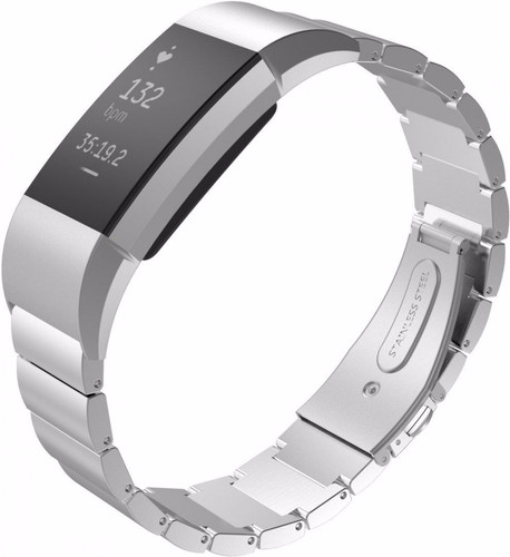 Just in Case Stainless Steel Watch Strap Fitbit Charge 2 Silver Main Image